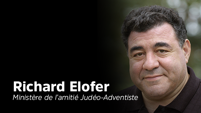 Interview Richard Elofer, responsable du ministère de l'amitié Judéo-Adventiste à la GC.