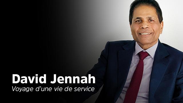 David Jennah, voyage d'une vie de service !