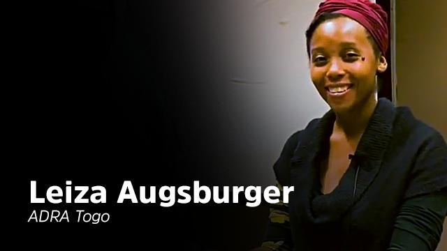 Interview de Leiza Augsburger d'Adra Togo - AM TV Interview