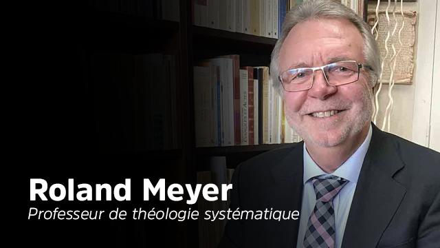 Interview de Roland Meyer, professeur de théologie systématique de la faculté adventiste du Salève