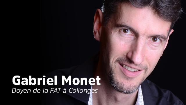Gabriel Monet, Doyen de la FAT à Collonges