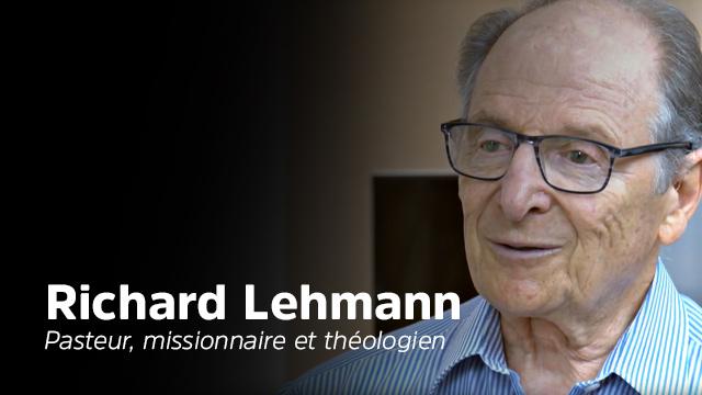 Richard Lehmann - Parcours de vie