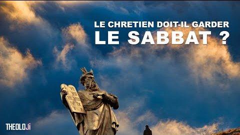 Un chrétien doit il garder le sabbat ? TEOLOJi