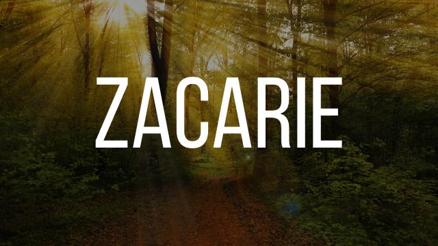 Zacarie