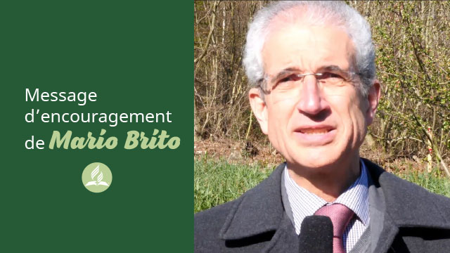 Message d'encouragement de Mario Brito