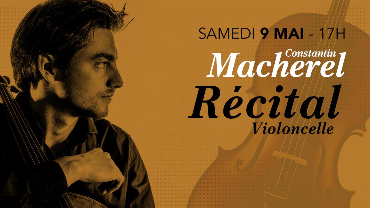 Récital Violoncelle – Bach & Rossini avec Constantin Macherel