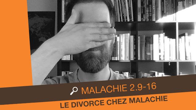 Malachie 2 - Le divorce