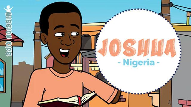 Joshua au Nigeria - Mission Kids