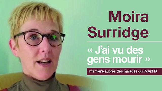 Moira Surridge - J'ai vu des gens mourir
