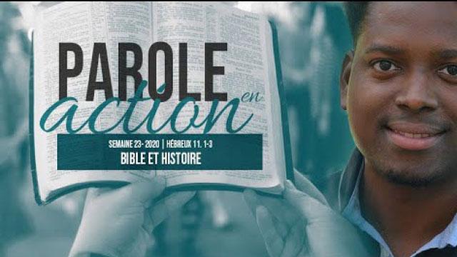 23. Bible et histoire - Parole en action