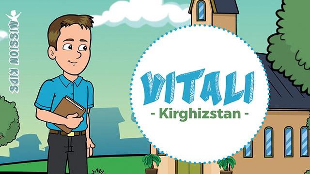 Vitali au Kirghizstan - Mission Kids