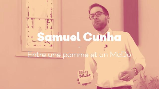 Entre une pomme et un McDo - Samuel Cunha