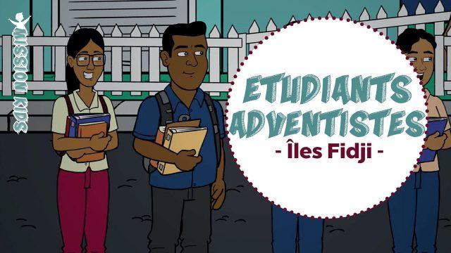 Les étudiants adventistes aux Îles Fidji