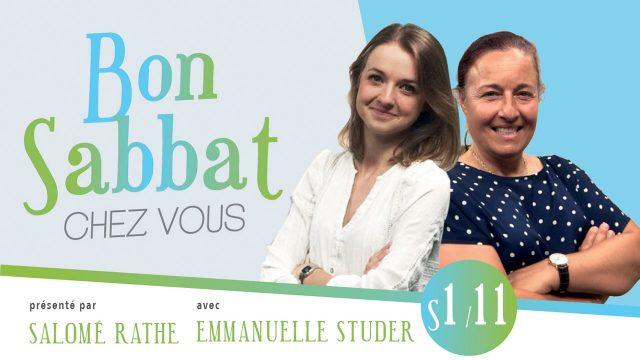 Bon Sabbat chez vous - S1#11 avec Emmanuelle Studer