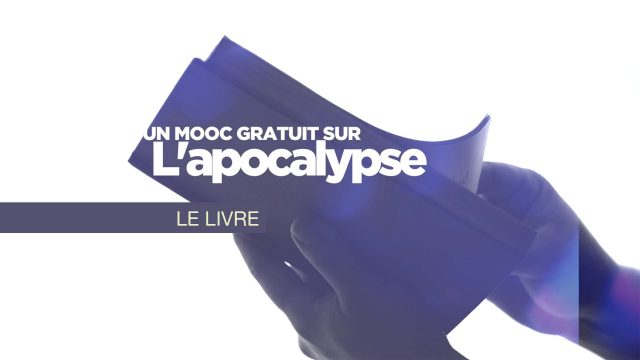 MOOC Apocalypse - 10. Le livre