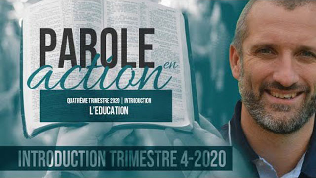 Parole en action – Introduction au thème « Education »