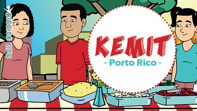 Kemit à Porto Rico – Mission Kids