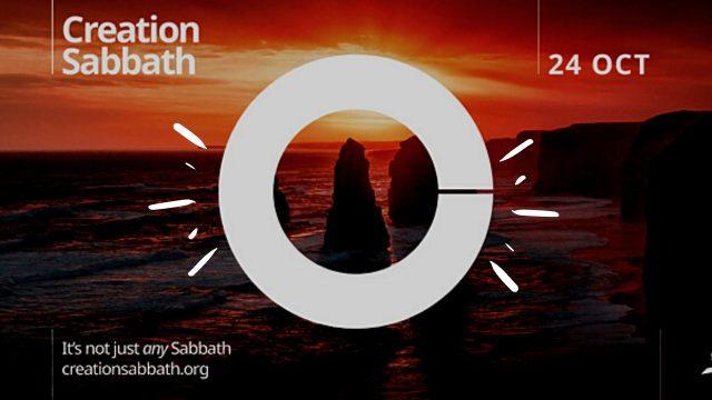 Sabbat de la Création 2020 - Une invitation au repos spirituel