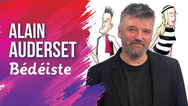 Interview d'Alain Auderset, bédéiste chrétien