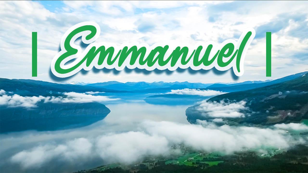 Emmanuel – Louange par Joëlle