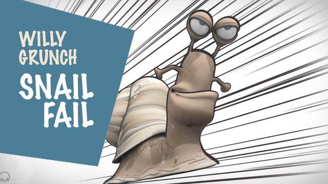 Willy Grunch : Snail fail - Alain Auderset