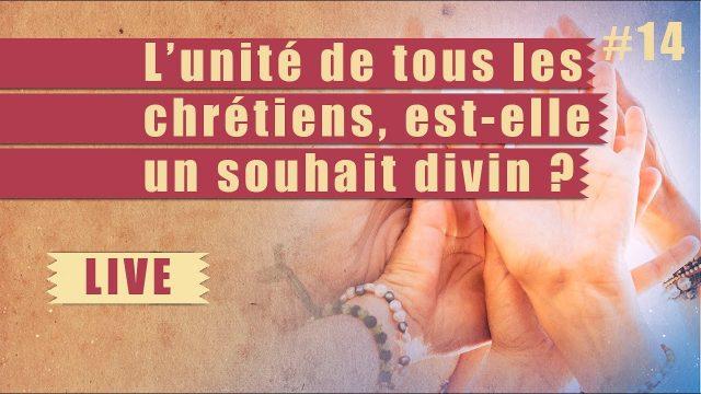 L'unité de tous les chrétiens, est-elle un souhait divin ? - Steps