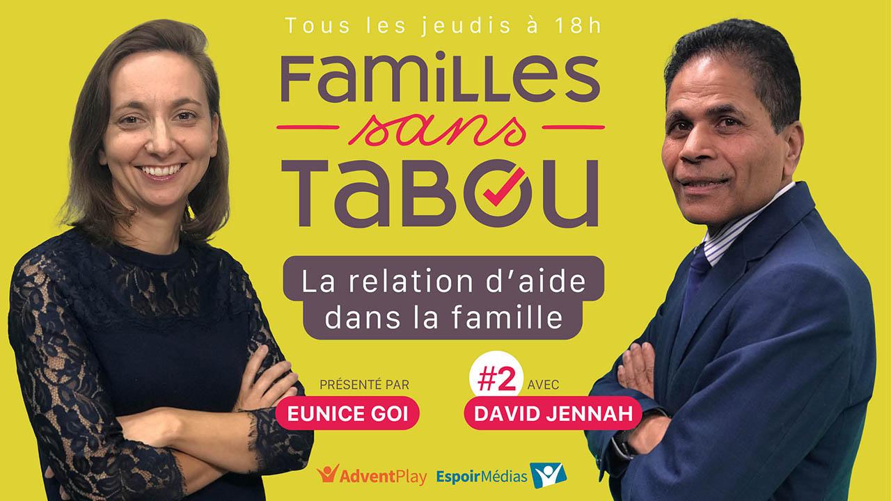 La relation d'aide dans la famille – Familles sans tabou