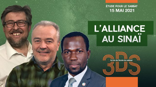 L'alliance au Sinaï - 2021T2-7 - Le trio 3DS