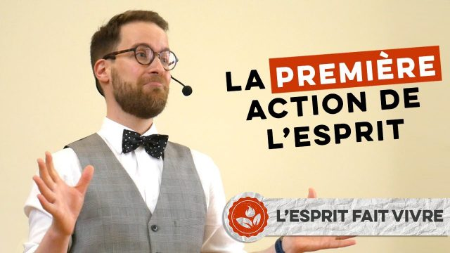 « La première action de l'Esprit » - Samuel Cunha