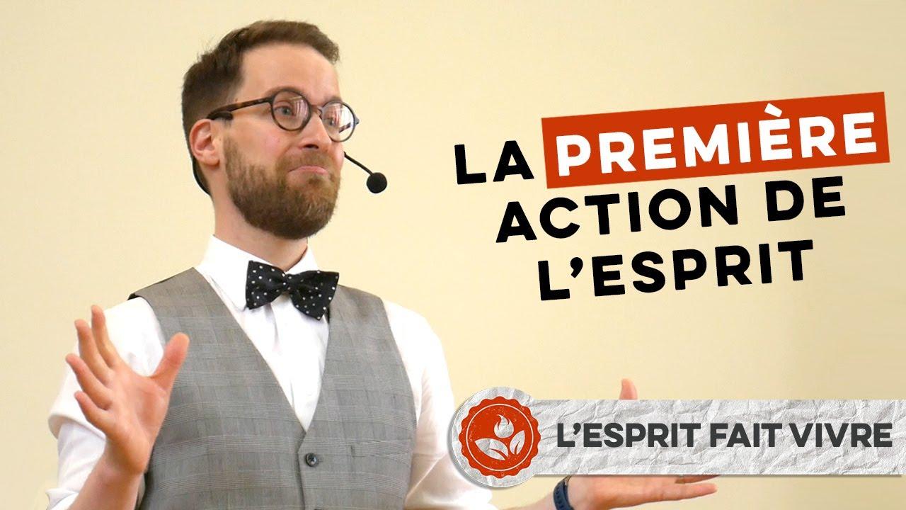 « La première action de l'Esprit » – Samuel Cunha