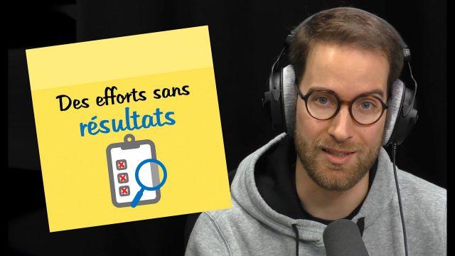 Des efforts sans résultats | POST-IT