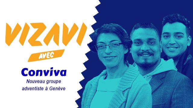 Vizavi rencontre le groupe Conviva