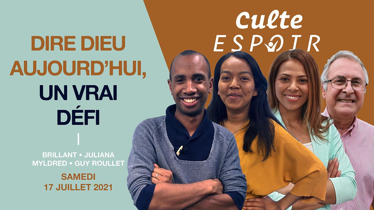 Un vrai défi – Culte Espoir avec Guy Roullet