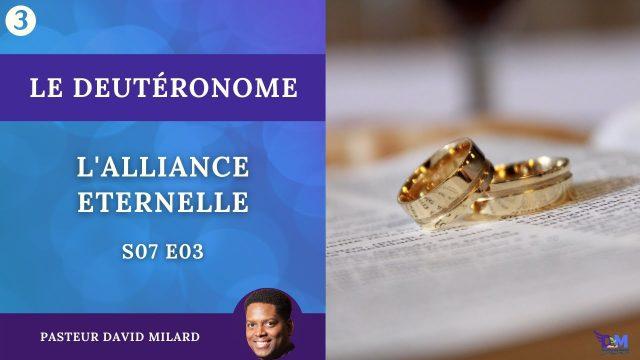 L'alliance éternelle   Deutéronome 26
